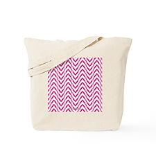 Chevron Zig Zag Pattern Tote Bag
