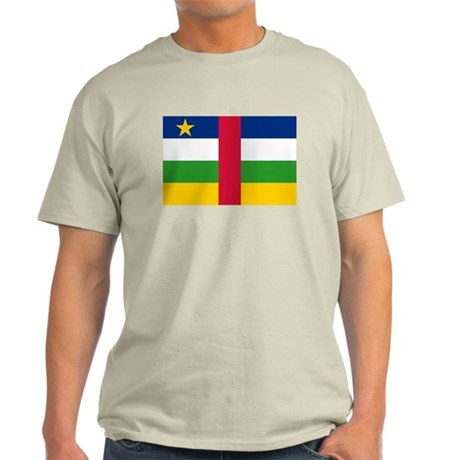 Central African Republic Flag Light T-Shirt