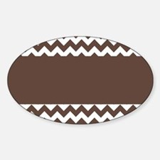 Chocolate Chevron Decal