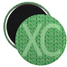 XC Run Run Green Magnet