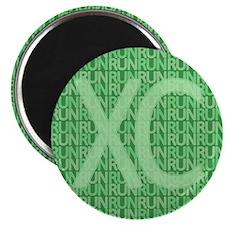 XC Run Run Green Magnet