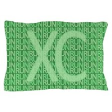 XC Run Run Green Pillow Case