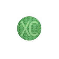 XC Run Run Green Mini Button