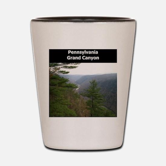 Pennsylvania Grand Canyon Shot Glass