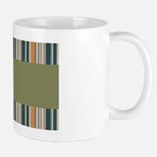 Earth Tone Stripes Mug