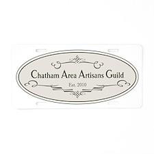 Chatham Area Artisans Guild Aluminum License Plate