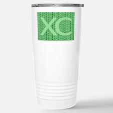XC Run Run Green Stainless Steel Travel Mug