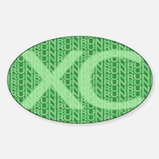 XC Run Run Green Decal