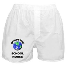 World's Best School Nurse Boxer Shorts