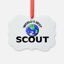 World's Best Scout Ornament