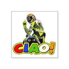 "ciao Square Sticker 3"" x 3"""