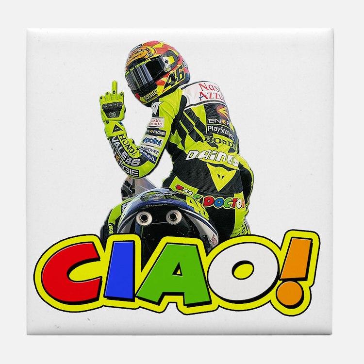ciao Tile Coaster