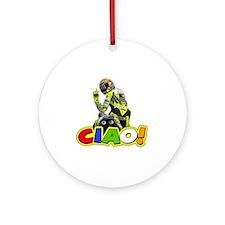 ciao Round Ornament