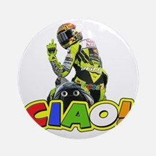 ciao Round Ornament