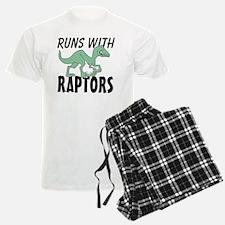 Runs with Raptors Pajamas