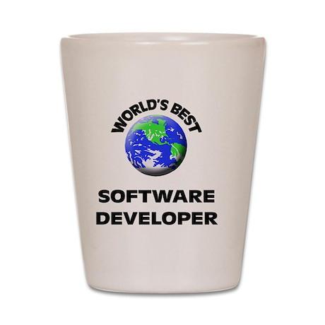 World's Best Software Developer Shot Glass