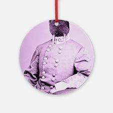 Walrus soldier Round Ornament