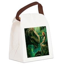 S-QUEENDUVET-3456X3456-greendrago Canvas Lunch Bag