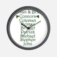 Connors Design Wall Clock