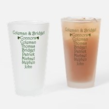 Connors Design Drinking Glass