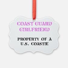 Coast Guard Girlfriend Ornament