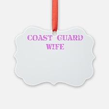 Coast Guard Wife Ornament