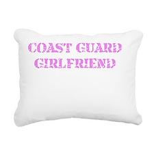 Coast Guard Girlfriend Rectangular Canvas Pillow