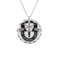 Special Forces Insigna Necklace Circle Charm