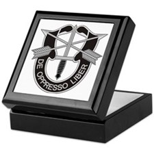 Special Forces Insigna Keepsake Box