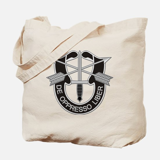 Special Forces Insigna Tote Bag