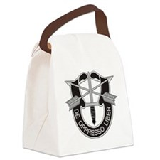 Special Forces Insigna Canvas Lunch Bag