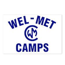 Wel-Met Camps Postcards (Package of 8)