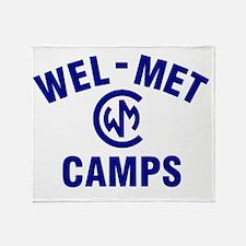 Wel-Met Camps Throw Blanket