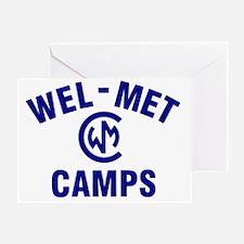 Wel-Met Camp Merchandise Greeting Card