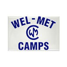 Wel-Met Camp Merchandise Rectangle Magnet