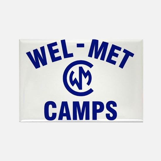 Wel-Met Camp Merchandise Rectangle Magnet