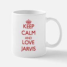 Keep calm and love Jarvis Mugs