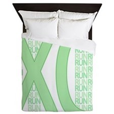 XC Run Run Green Queen Duvet