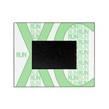 XC Run Run Green Picture Frame