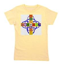 Greek Astrological Cross Girl's Tee
