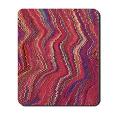 Abstract Colorful marble texture Mousepad