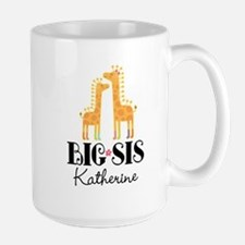 Big Sis Personalized Announcement Mugs