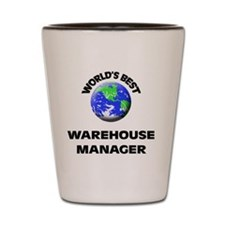 World's Best Warehouse Manager Shot Glass