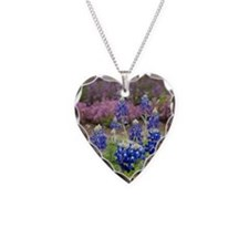 BLUEBONNET SHOWER CURTAIN Necklace