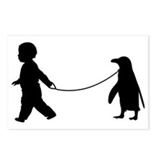 Baby and Penguin Postcards (Package of 8)