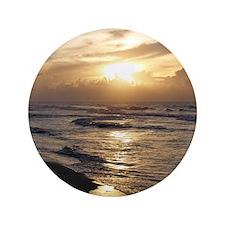"Myrtle Beach Sunrise 3.5"" Button"