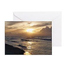 Myrtle Beach Sunrise Greeting Card