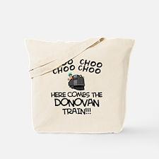 Donovan Train Tote Bag