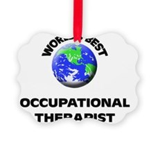 World's Best Occupational Therapi Ornament