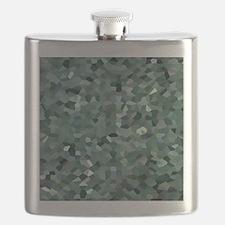 Broken Glass Art Flask